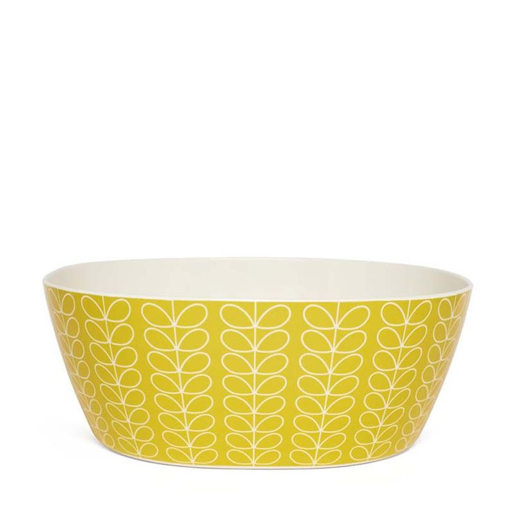 Orla Kiely Yellow Multi Stem Melamine Salad Bowl – Kiitos living by design