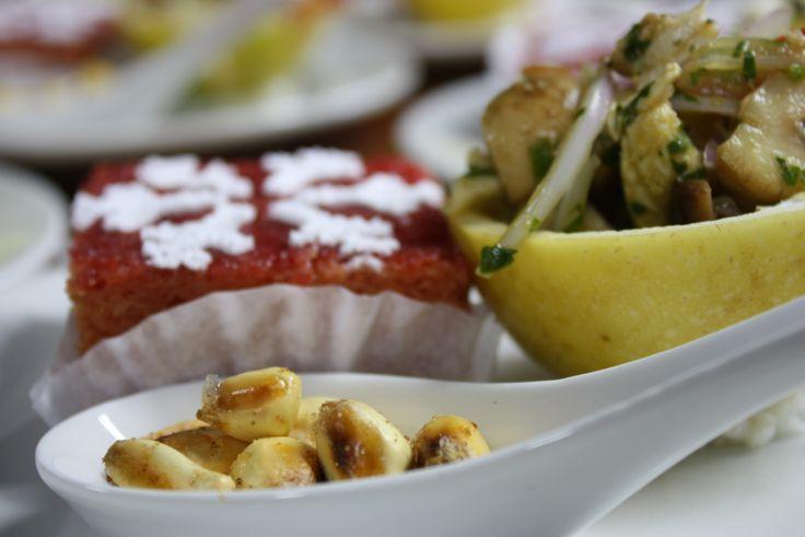 En RITUS todos nuestros platos han sido trabajados con las manos, la mente y el corazón