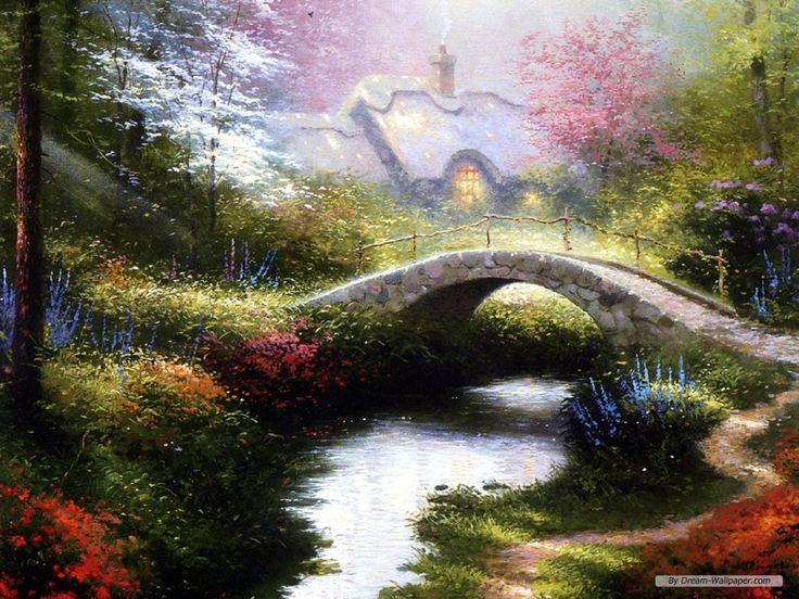 One of my favorite Thomas Kincade Paintings!