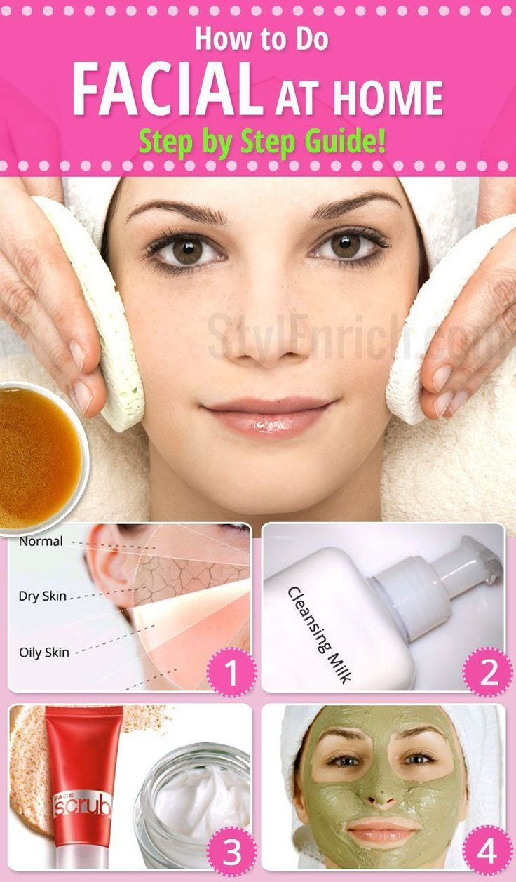 How to do facial at home. This step-by-step guide to do facial is ideal for begi…