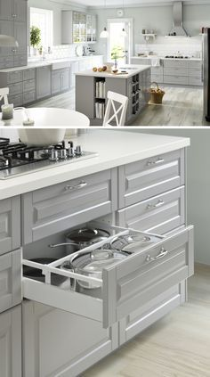 65 best kitchens ikea images on pinterest for the home for What kind of paint to use on kitchen cabinets for pop art wall decals
