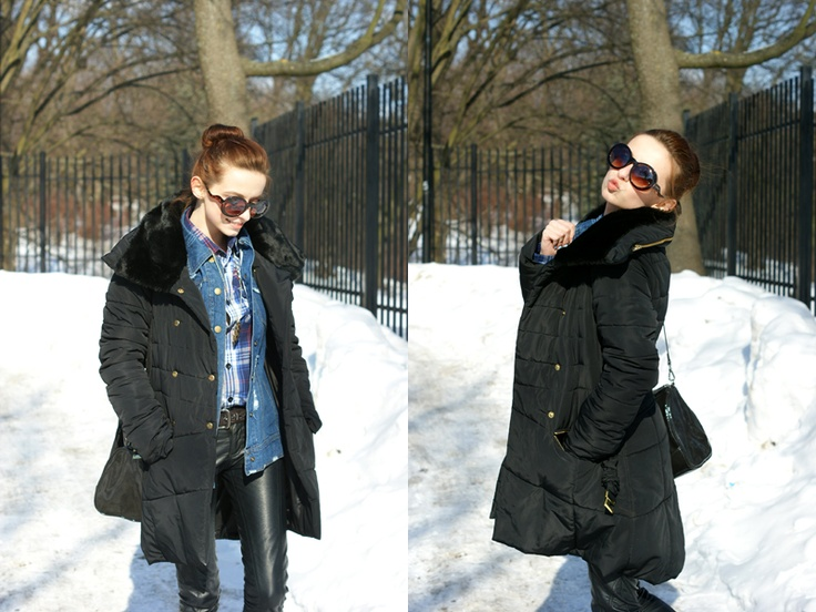 Martyna i kurtka by MSQ. Ah! Jak my chcemy już wiosny! (Wintertime sadness)