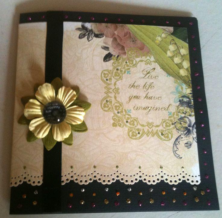 #happybirthday #card #scrapbooking #födelsedgskort