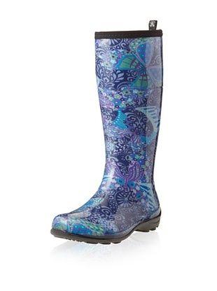 Kamik Women's Kelsey Rain Boot (Navy)