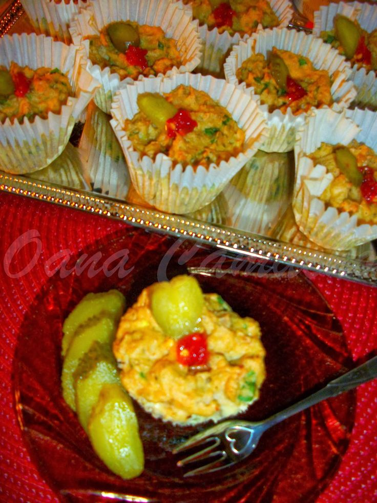 Cooking with love ! : Muffins cu peste ( Muffins with fish )
