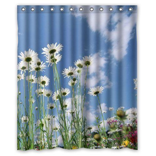 Daisy Blue Sky shower curtain 60x72 inch wantsky https://www.amazon.ca/dp/B06WVLR9ZX/ref=cm_sw_r_pi_dp_x_bcDdAbTE0W2T8