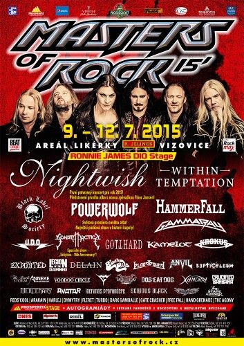 #masters of rock #vizovice #nightwish #powerwolf #czech republic #jiří daron