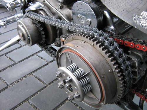 Yes Dry Clutch Open Primary Ftw Harley Davidson Chain