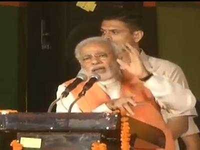 मोदी ने दिल्ली रैली में AAP को बताया 'धोखेबाज पार्टी'