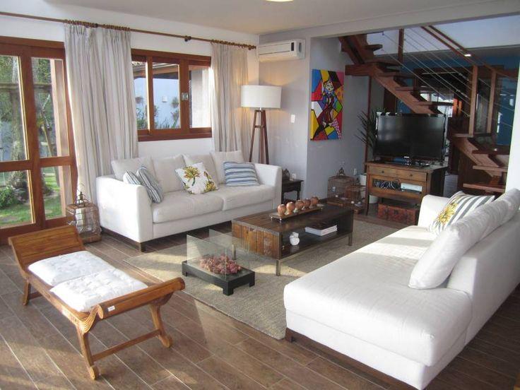 Casa de Praia: Salas de estar Rústico por Espaço do Traço arquitetura