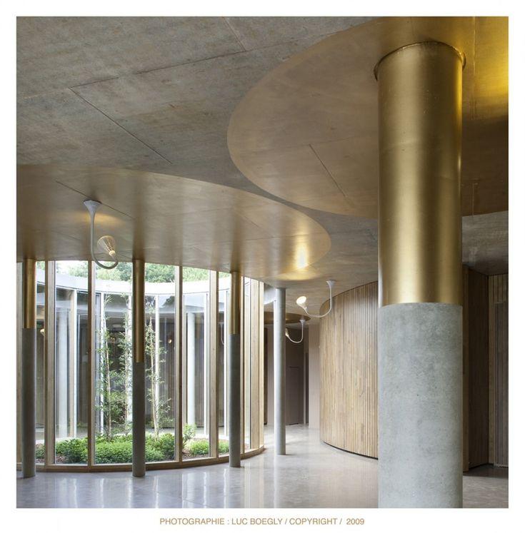 Rennes Métropole Crematorium by PLAN 01 architects