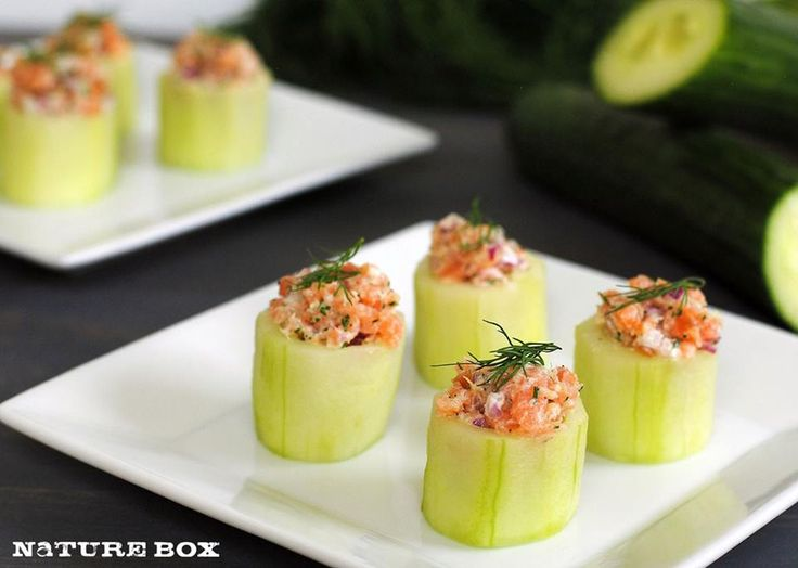 Need to freshen up your snack routine? Whip up these Mini Cucumber Cups with Smoked Salmon - no cooking required!
