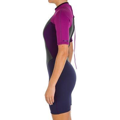 Wassersport_Surfen_BekleidungNeopren Wassersport (TRIBORD) - Neopren-Shorty 100 Damen TRIBORD - Strand- und Surfbekleidung