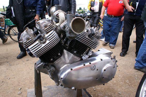 1500cc V6 Triumph Motorcycle Engine - Rare