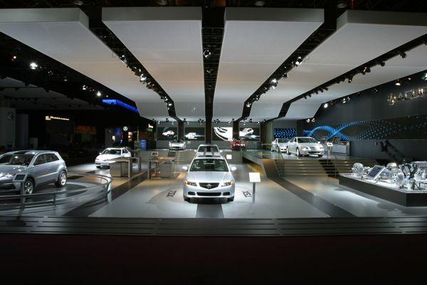 Acura Detroit Auto Show Exhibit 2005 by Geoffrey Mye, via Behance
