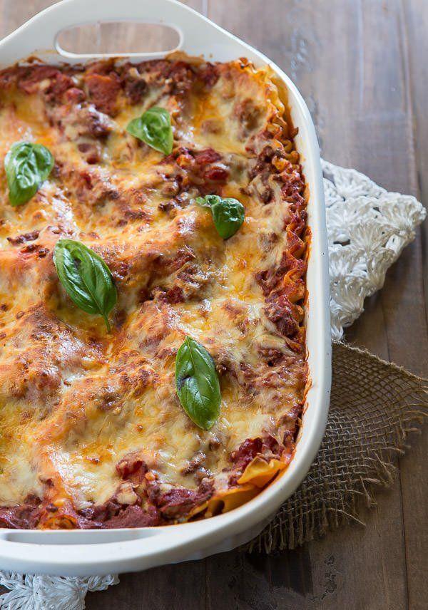 best lasagna recipe with meat sauce