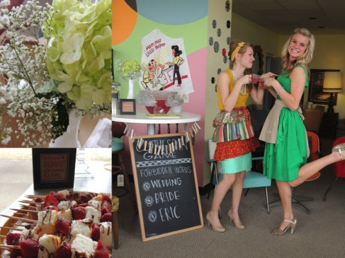 5c65cfb75ff8 50 s housewife bridal shower  kind of love this idea for a bridal shower!   it reminds me of mad men  )