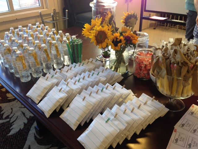 Great ideas for your back-to-school night!  This teacher is amazing!