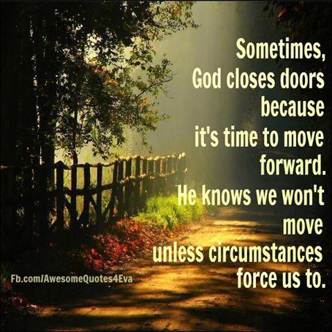 Sometimes God Closes Doors Great Quotes Amp Scriptures