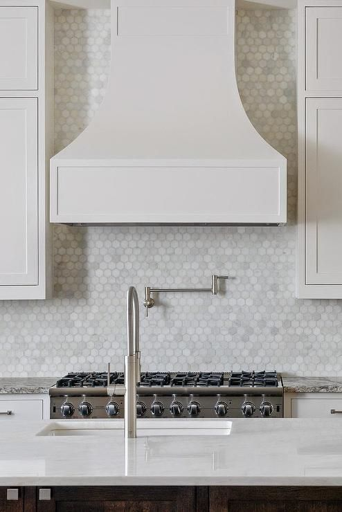 Best 28 Best Hexagon Tile Backsplashes Images On Pinterest 400 x 300