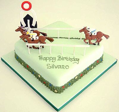 Cake Decorations Horse Racing : 44 best images about Horse Racing Cakes on Pinterest ...