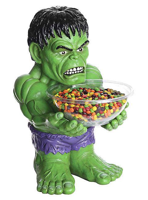 Hulk Süßigkeiten-Halter Figur ► Online bestellen | maskworld.com