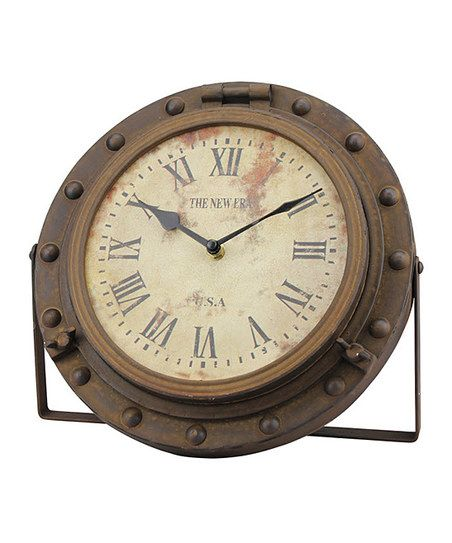 Stonebriar Collection Era Rustic Tabletop Clock | zulily
