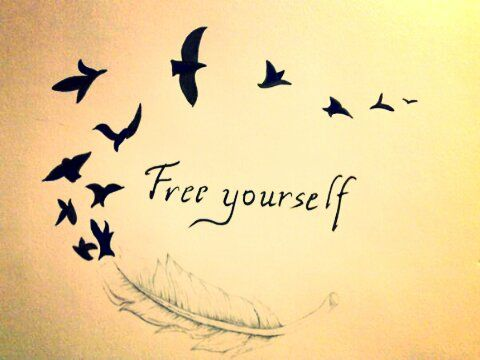 Free Yourself Picture by Gigi - Inspiring Photo and would make a great tattoo.