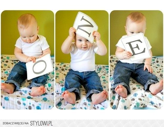 Cute birthday photo idea!