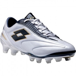 Mens Lotto Fuerzapura L100 Soccer Cleats White Fiber - ONLY $129.95