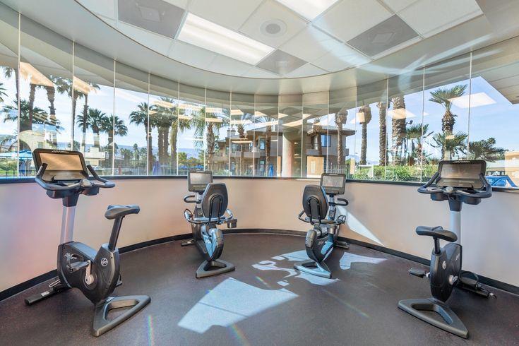 Marriott S Desert Springs Villas I Fitness Center Cardio Equipment Visiting Hotel Guest Marriott Desert Springs Villas Spring Villa Hotel