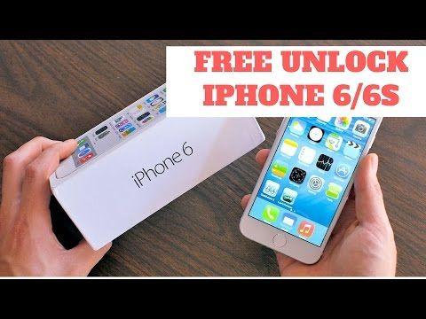 121 Unlock Iphone 6 Free Free Unlock Iphone 6 6s 6s Plus 6 Plus Youtube Unlock Iphone Iphone Phone
