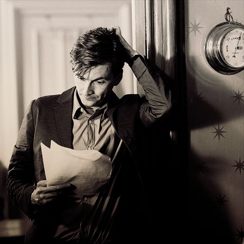 David Tennant. He's charming and adorable. See link: http://thedowagercountess.tumblr.com/post/31273192224#