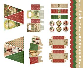 Kit navideño para imprimir (printable xtmas kit)