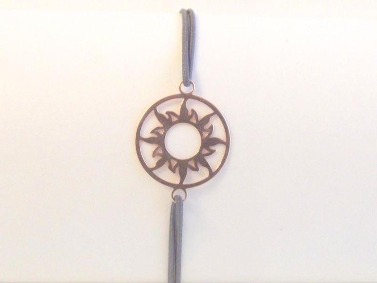 """Filigranes, zartes Armband """"Sonne"""" 925 Silber Element Rose-vergoldet,Rosenquarz Perlen von silberstrich auf Etsy"""