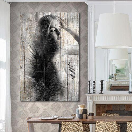 22 best Tableau deco noir et blanc effet bois images on Pinterest ...