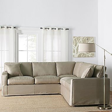 Slipcover Sectionals, Studio Sierra - jcpenney, $1000: Dreamy Furniture, Jcpenney 1000, Studio Sierra, Family Room, Slipcover Sectionals
