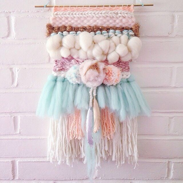 Wall hanging by cake spun