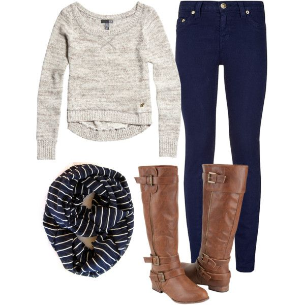 """""""Fall style"""" by tayandree on Polyvore #polyvore #poepoepurses #fallstyle #infinityscarf #scarves"""