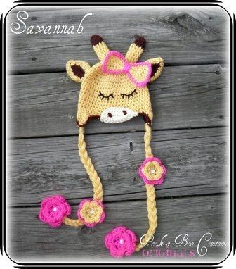 Giraffe hat