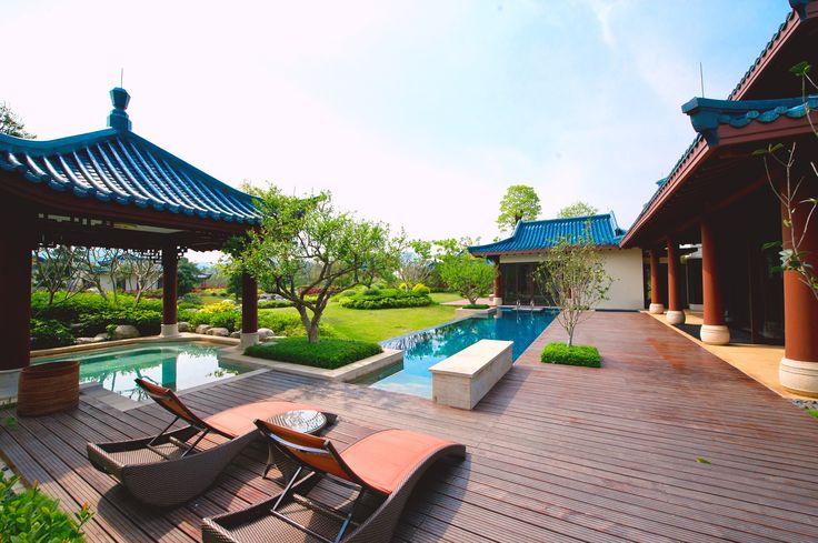 This is how the elite live #luxurytravel #china #travel #chinavilla #luxuryvilla