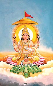 Surya Tvashta The twelve Sun-gods (12 Adityas)