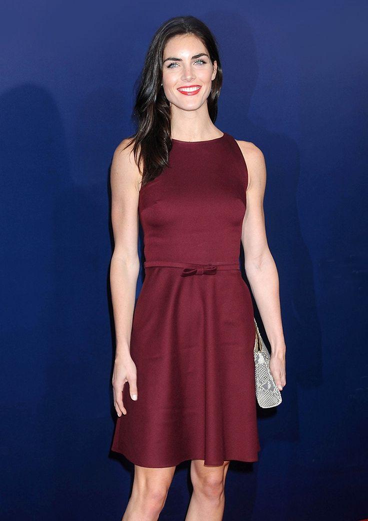 Topmodel Hilary Rhoda |  Lady | womenswear | Fashion | premium | red dress | silk | PKZ |  buy here --> http://goo.gl/Kg2z1u