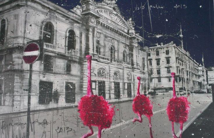 Red Opera, silkscreen ed 100