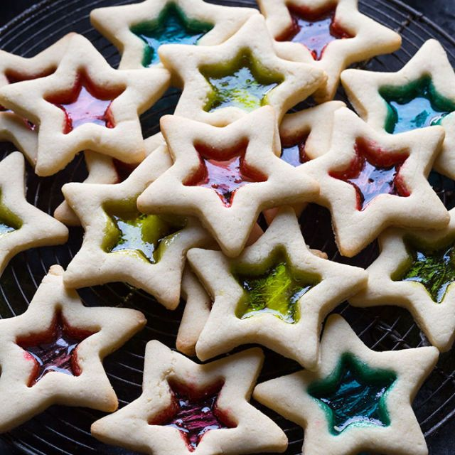 Gluten-Free Stained Glass Cookies