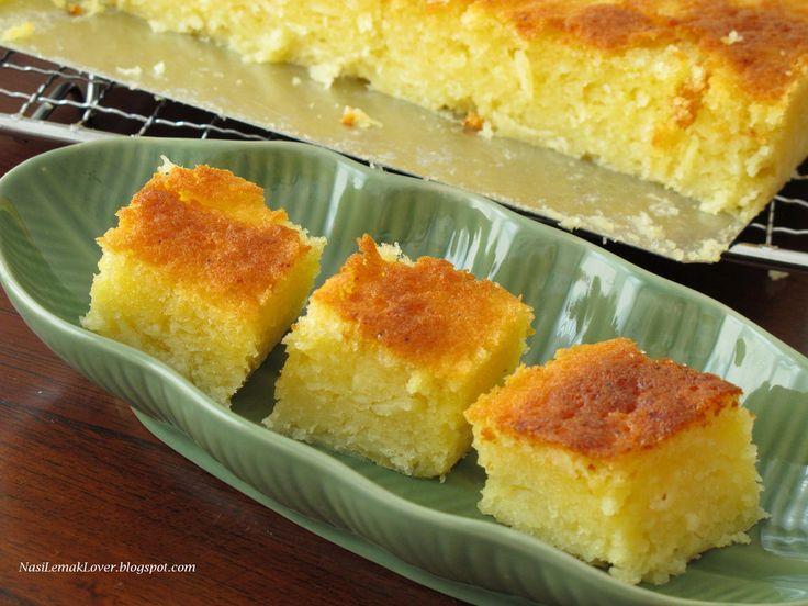 Baked Cassava cake   by Nasi Lemak Lover (http://nasilemaklover.blogspot.c