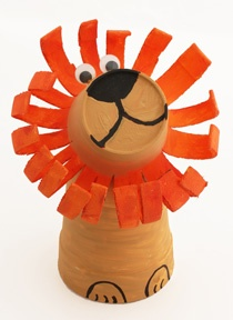 Lion Crafts and Activities. Templates also  Orange  Circusleeuw!