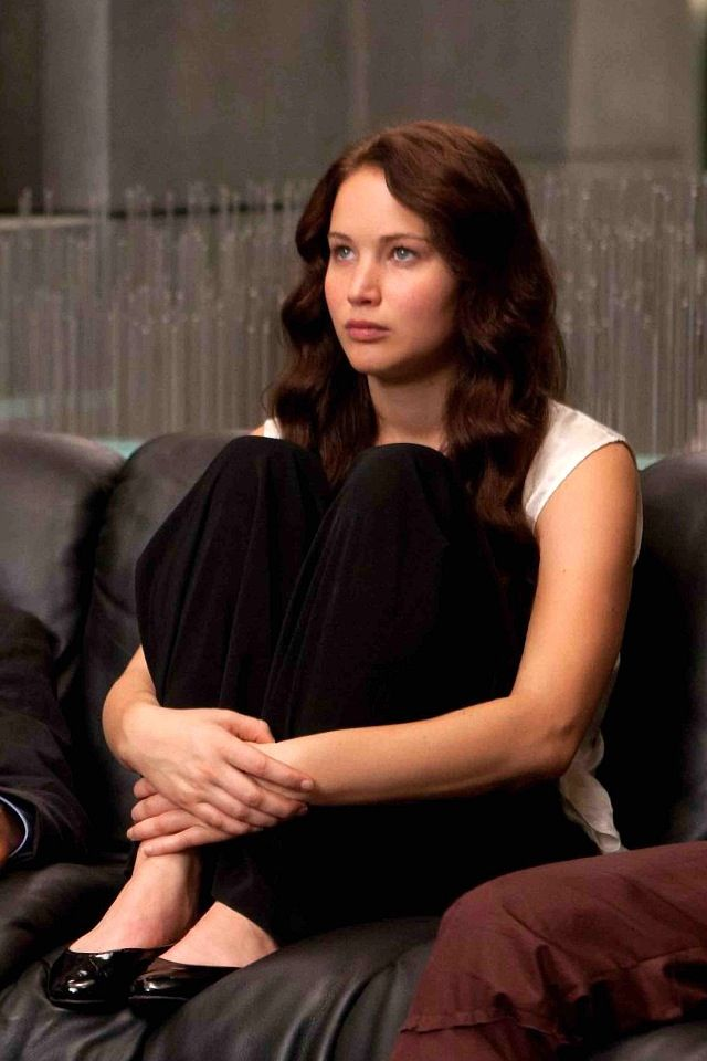 Jennifer Lawrence as Katniss Everdeen | Hair, Hair, Hair ...