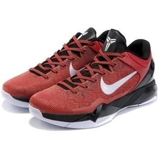 Nike Zoom Kobe 7 VII Red/Black/White, cheap Nike Kobe VII, If you want to  look Nike Zoom Kobe 7 VII Red/Black/White, you can view the Nike Kobe VII  ...
