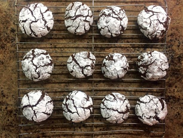 A decadent rich little chocolate cookie.  Very pretty and simple to make.  I love to use them in cookie swaps